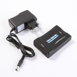 MHL/HDMI to SCART Video Converter Scaler for Smartphone Sams
